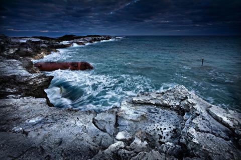 Rice Bay Shipwreck, San Salvador, Bahamas