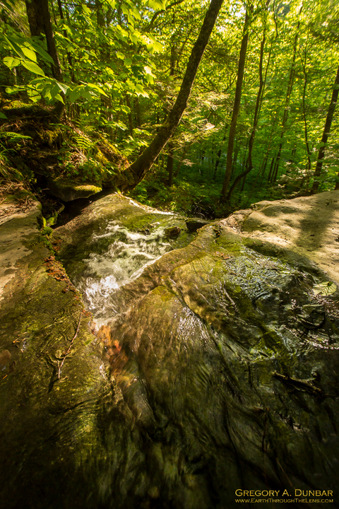 """""""Pixely Falls State Park Stream"""""""