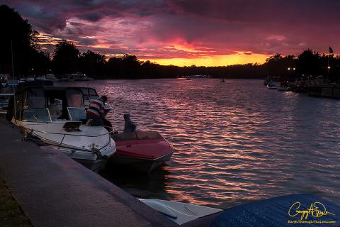 Lock 24 Sunset Baldwinsville NY